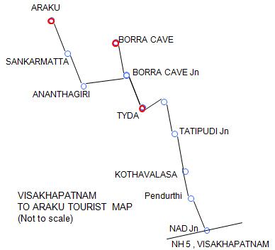 road trip from vizag to araku க்கான பட முடிவு