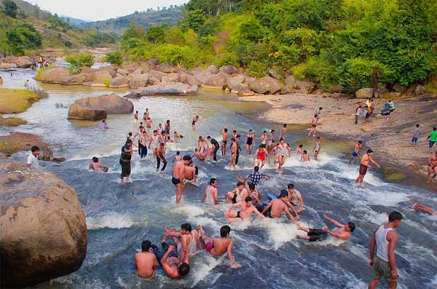 Dumbriguda Chaparai Water Falls In Of Visakhapatnam