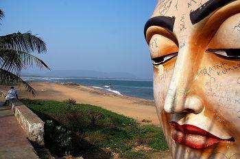 Bheemunipatnam buddhist statue