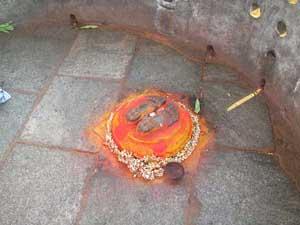 Thirupada at Narayanagiri
