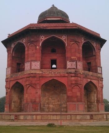 Sher mandal of Purana Qila