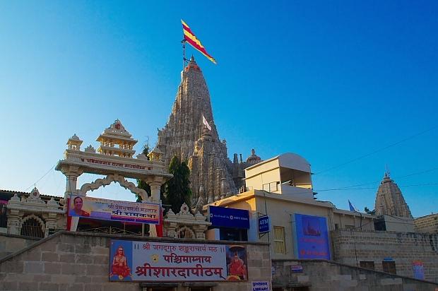 dwarkadhish temple at dwarka and betdwarka tourist guide