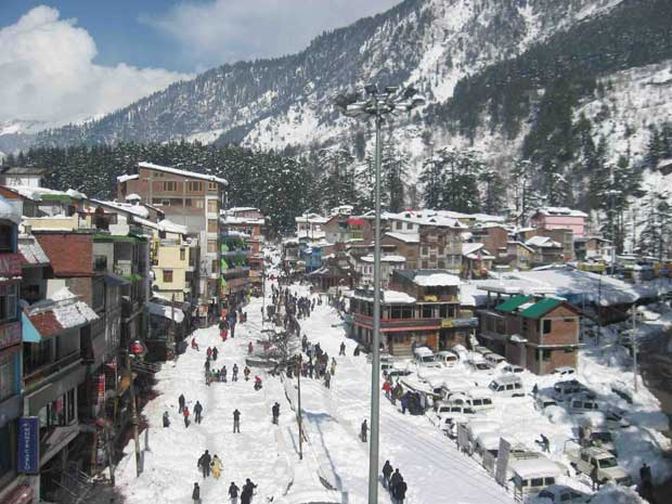 Manali weather in all months of year for required woolen dress and