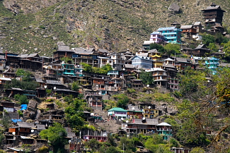 Kamru Forteress at Sangla