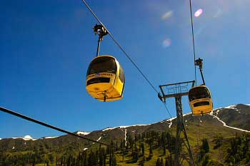 Cable Car Gondola Amp Chair Lift At Gulmarg For Tourist And