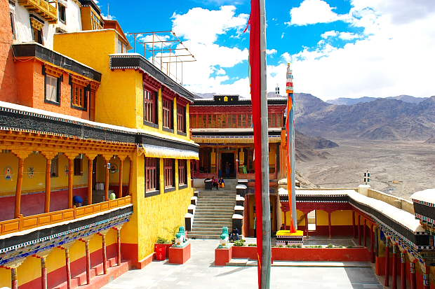Image result for thiksey monastery leh