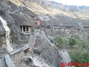 ajanta and ellora caves images