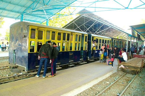 Toy train at Neral station