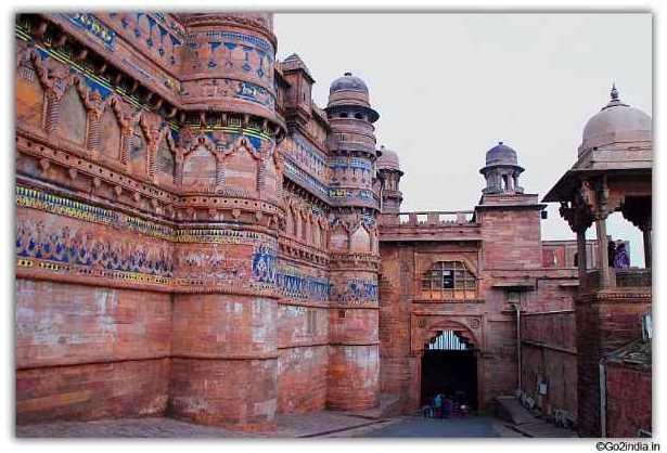 Gwalior Fort And Man Singh Man Mandir