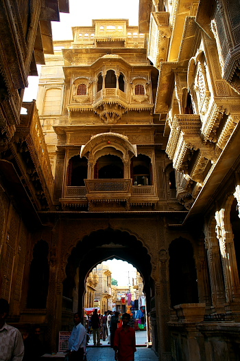 Patwon Ki Haveli at Jaisalmer