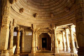 Ranakpur Marbel Jain Temple In Rajasthan