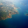 Andaman islands aerial view