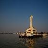 Husen Sagar Lake Buddha Statue