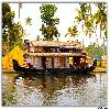 House boat at Alleppey