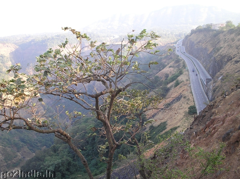 Mumbai Pune Express way at Khandala