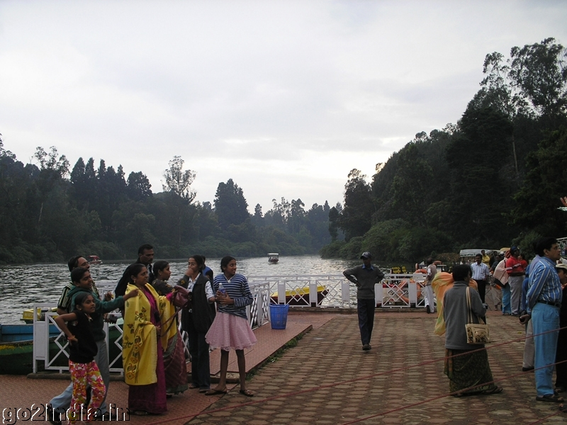 ooty boat house view