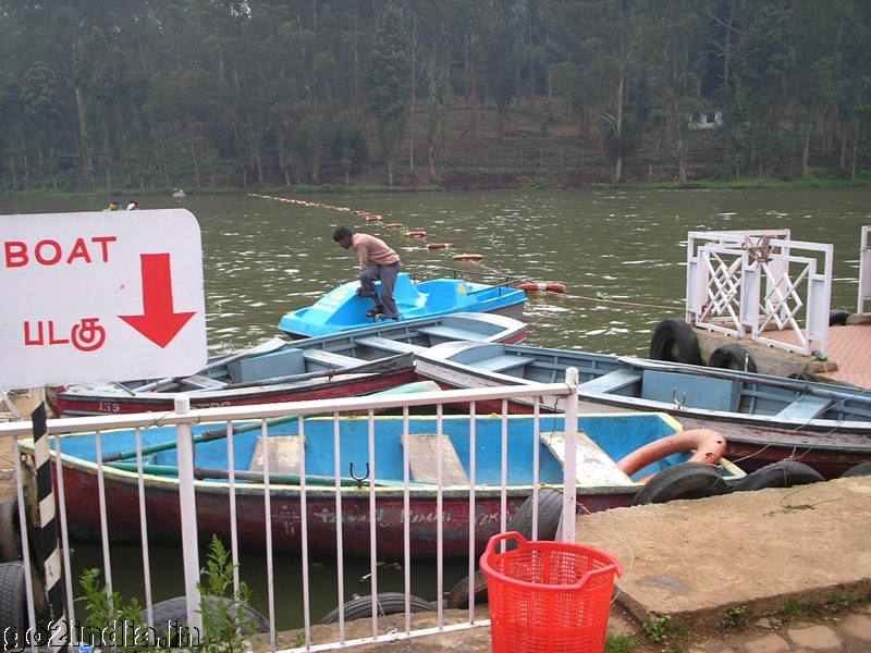 Ooty boat house lake