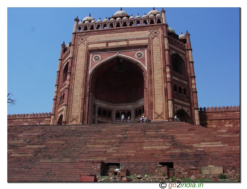 Main entrance of Fatehpur Sikri