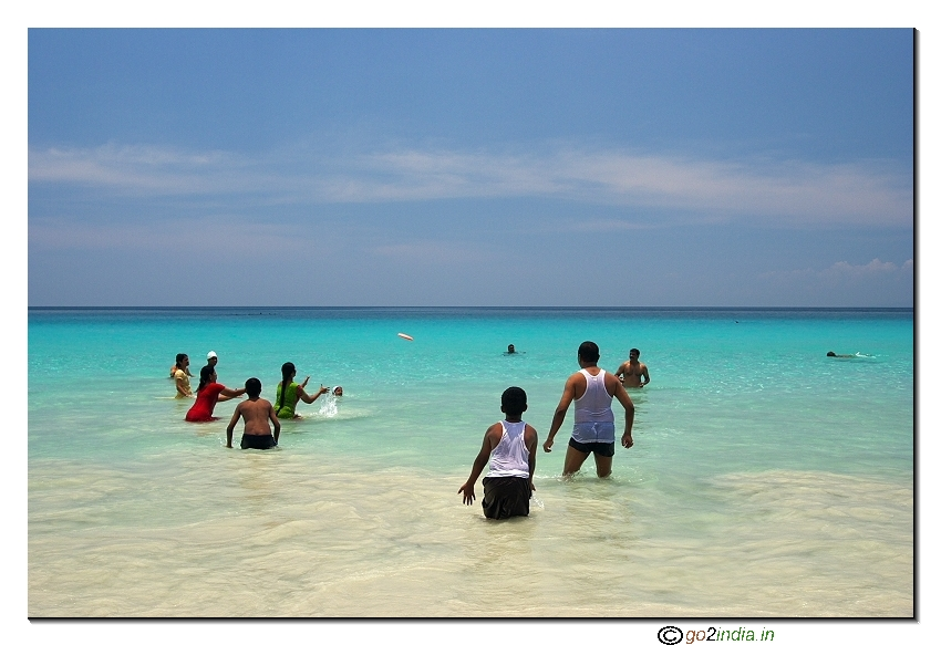 Havelock island at Andaman