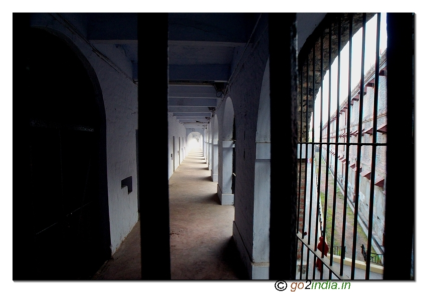 go2india in : Inner jail view at Andaman