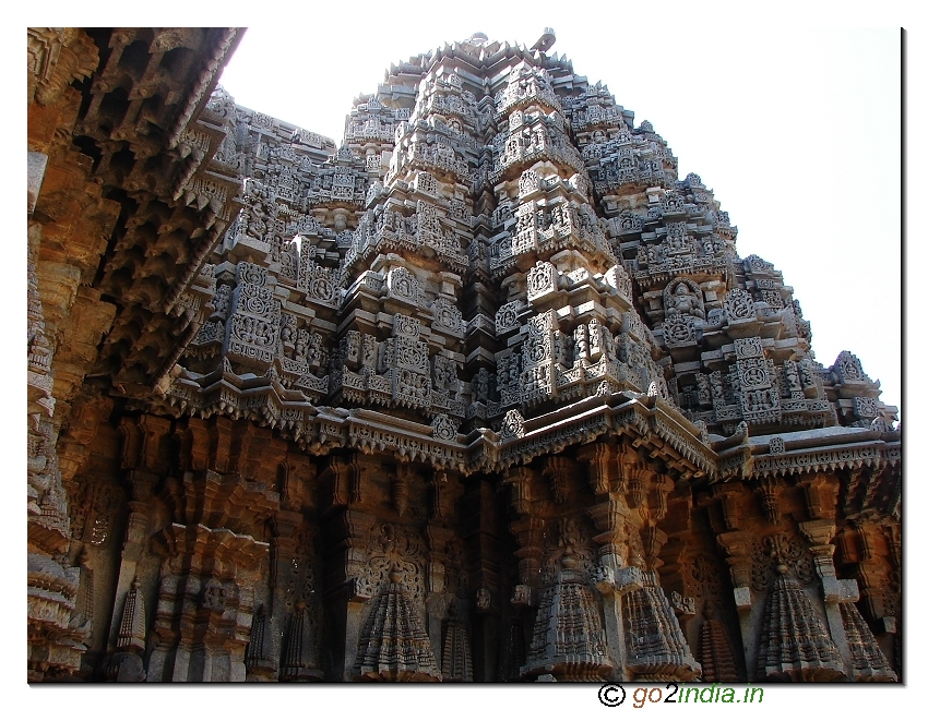 star-shaped Chennakesava temple at Somnathpur