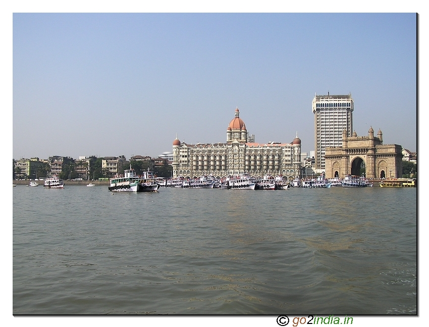 Gateway of India in waterfront at South Mumbai