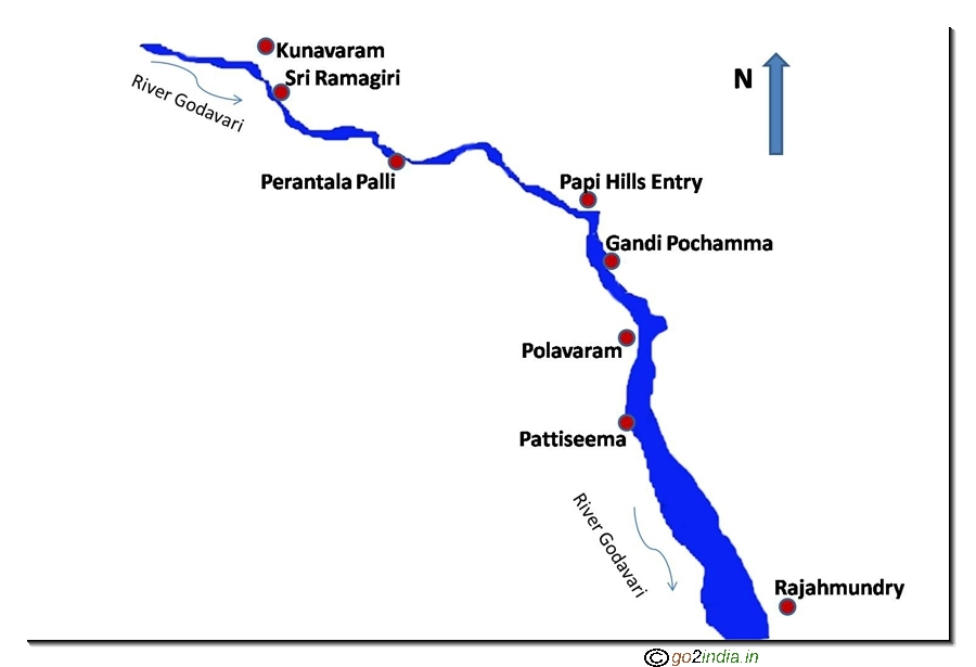 Rajahmundry To Bhadrachalam Godavari Launch Journey Papikondalu