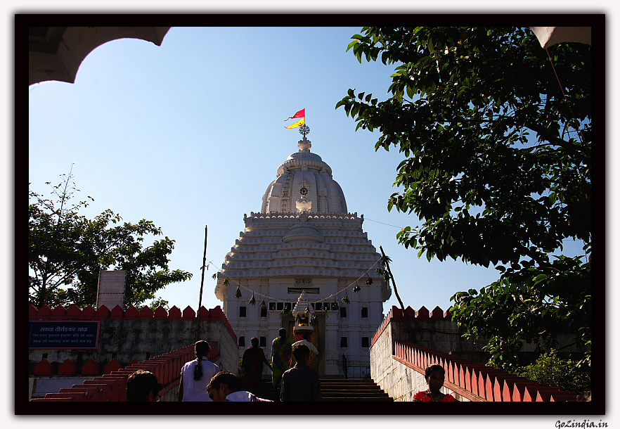 The jagannath temple at Koraput