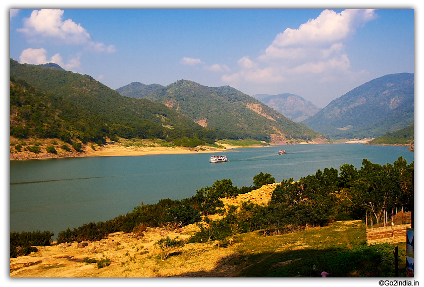 View of Papikondalu hills from Perantalapalli