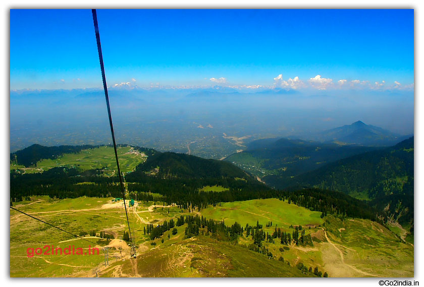 Gulmarg from top in cable car