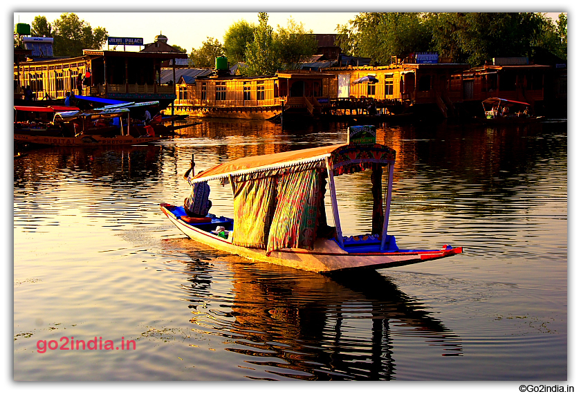 Dal Lake at Srinagar