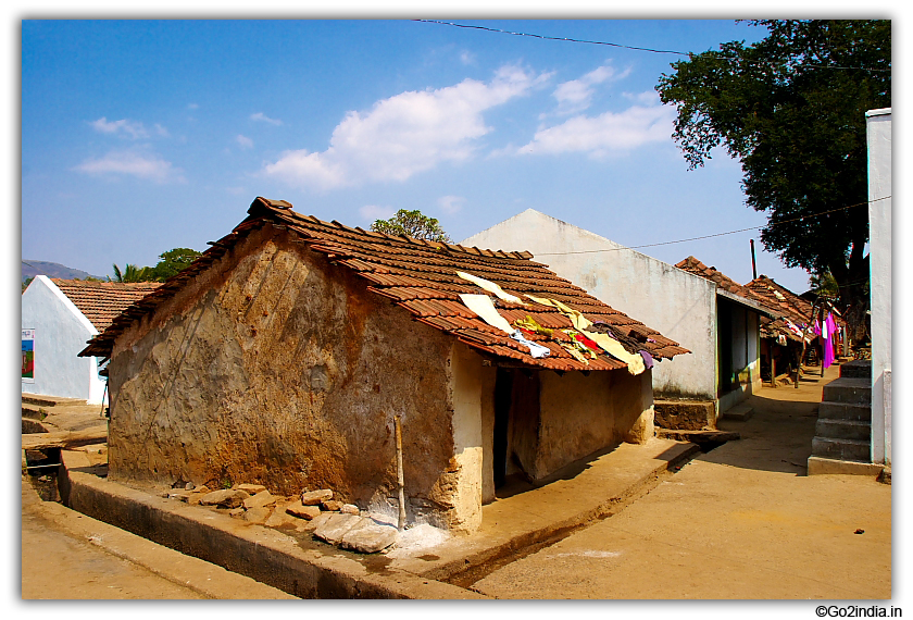 10 >> go2india.in : Village area on the way to Ananthagiri village