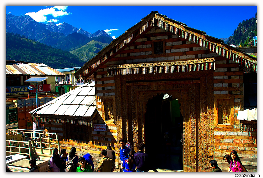 Vashist Muni temple and Hot spring near Manali