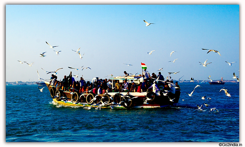 Bet Dwarka journey by boat